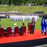 RECIBE BASTON DE MANDO DE LAS FUERZAS ARMADAS 3