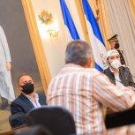 22 MAYO REUNION CON ALCALDES DEL PARTIDO GANA