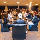 22 MAYO REUNION CON ALCALDES DE PARTIDOS PDC Y PCN