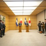 Conferencia de prensa con Primer Ministro.