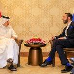 Reunión con Qatar Airways