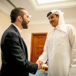 Reunión con Emir.