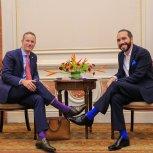 Reunión con Adam Boehler, , CEO, Corporación Financiera de Desarrollo Internacional de EE. UU. Estados Unidos.