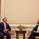 Reunión Bilateral con Presidente de Colombia