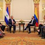 Reunión Bilateral con Presidente de Colombia.